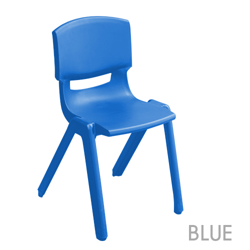 dark blue school chair
