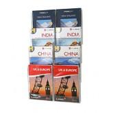 A4 Expanda Clip Brochure Holder - Set of 10