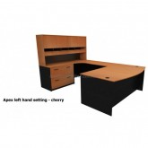 Apex 2000 Executive Office Desk Setting