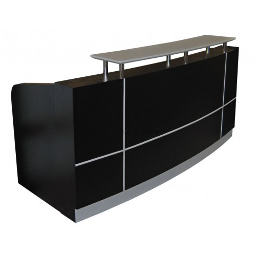 ariel modern office reception counter desk receptions