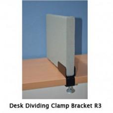 Desk Divider Clamp Bracket
