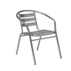 Cello Aluminium Cafe Bistro Chair