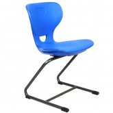 Flex Cantilever School Chair, Educational Chairs, Metal frame