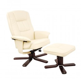 Mary Lounge Recliner & Ottoman