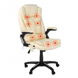 8 Point Massage Office Chair - 200kg Weight Rating