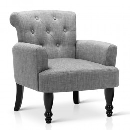 Wing French Provincial Armchair