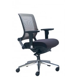 Wall Street Medium Back Mesh Chair