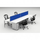 Cubit Raceway - 4 Person Workstation Pod