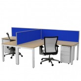 Cubit Workstations 2 Corner Desks