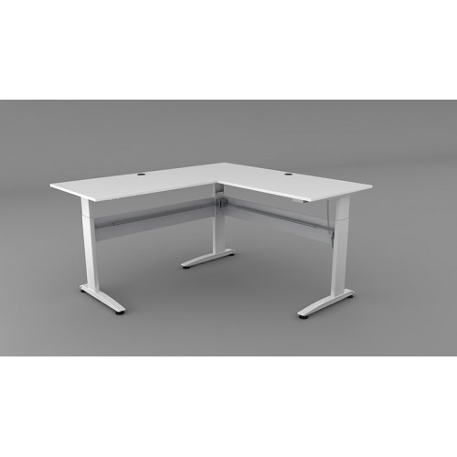 Altex 100 Corner Electric Height Adjustable Desk   *Frame Only*