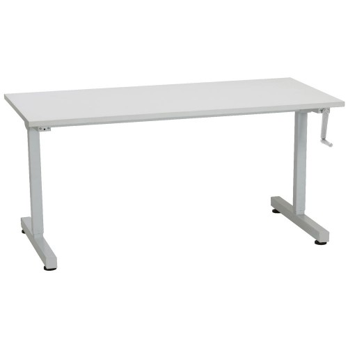 MyHeight Manual Height Adjustable Sit Stand Desk