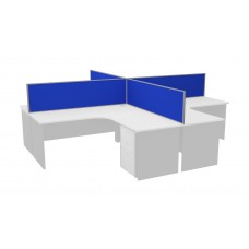 Desk Mounted Screens Divider Partitions