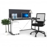 Rivoli Office Desk & Screen