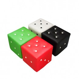 Dice Shape Ottomans Set of 4