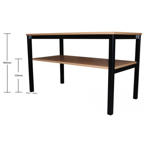 Drafting Table Bench With Shelf