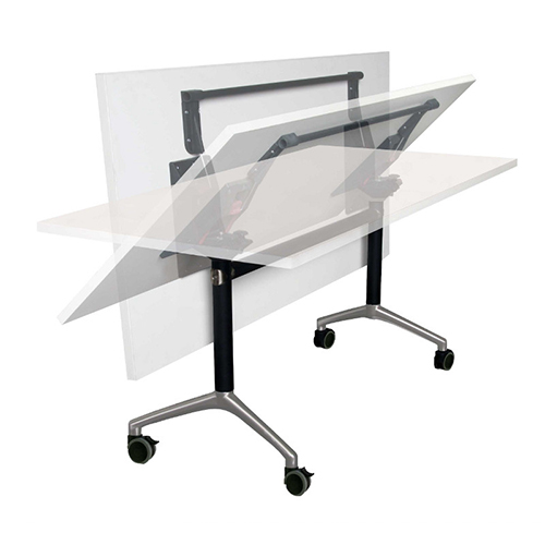 Eiffel Folding Table Flip Top Mobile Tables From