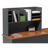 Desk Caddy Storage Shelving Hutch