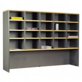Pigeon Hole Hutch Storage Filing Shelves