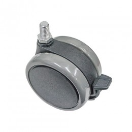 Large Heavy Duty Locking Casters with Foot Break