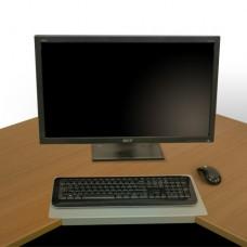 Keyboard Desk Lozenge - 25mm & 33mm Corner Splay