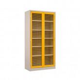 Mesh Door Security Storage Cupboard 1850 High