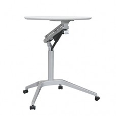 Height Adjustable Mobile Table Sit Stand Desk