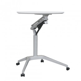 Height Adjustable Table Mobile Lectern Sit Stand Desk