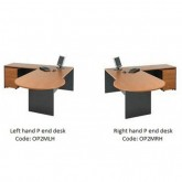 Origo 2 Piece Office Desk setting, P end desk & Return