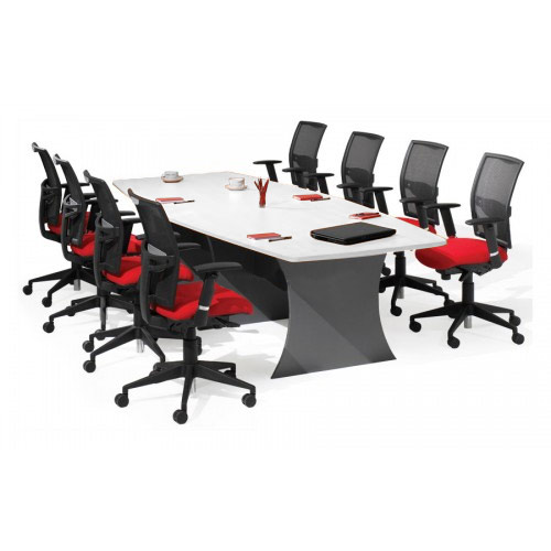 Boardroom Furniture For Sale: Origo Boat Shaped Boardroom Meeting Table