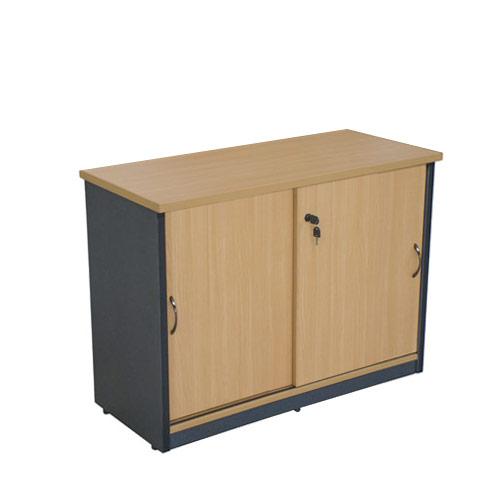 Office Credenza With Doors : Sliding door cabinet credenza buffet office storage
