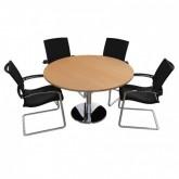 Origo Disc Base Meeting Table