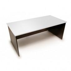 Origo Office Desk - White and Ironstone