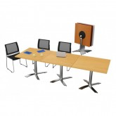 Reno Flip Top Meeting Table - Square