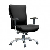 Rite Medium Back Executive Chair - Black