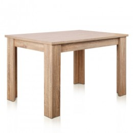 Tennyson Natural Wood 4 Seater Dining Table