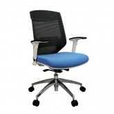 Vogue Office Mesh Chair - White Frame