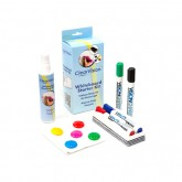 Clear Vision Whiteboard Starter Kit by Vision Chart