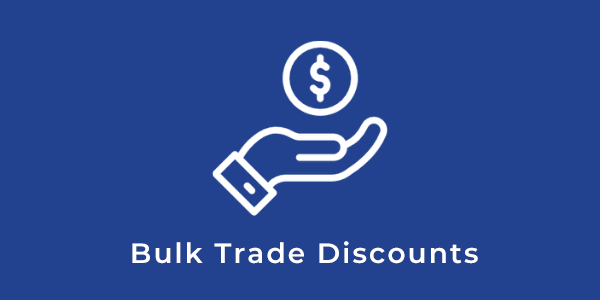 Bulk Trade Discounts