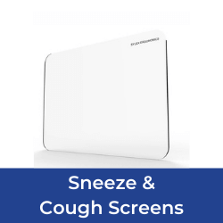 Sneeze and cough screens