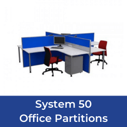 System 50 office partitions