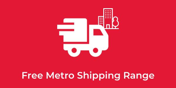 free metro Shipping Information