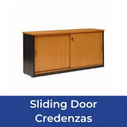 Sliding Door Credenzas