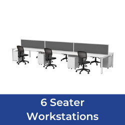 6 seater workstations