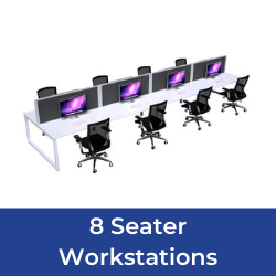 8 seater workstations