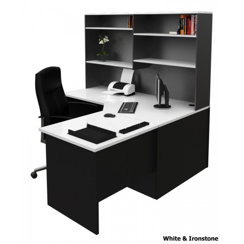 office desk settings and table top options at