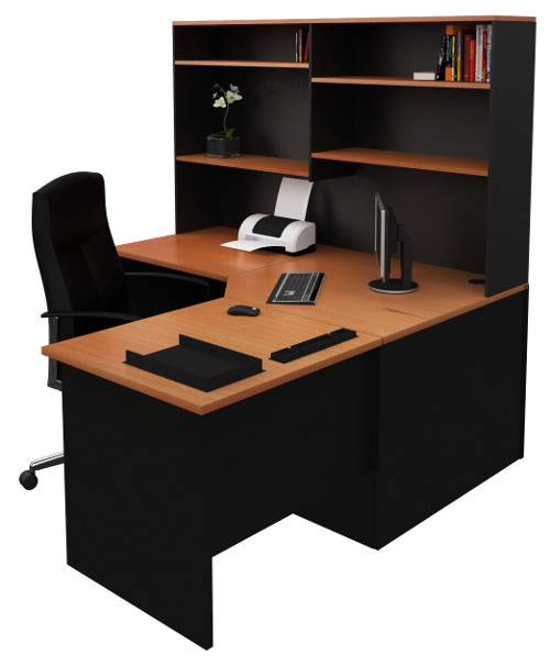 Desk With Hutch For Home & Office From BuyDirectOnline.com