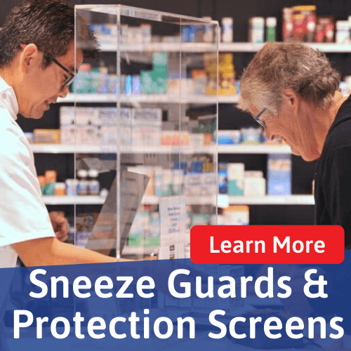 sneeze screen banner square