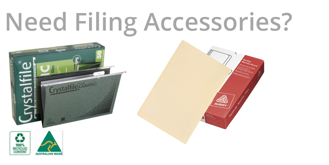 Need Filing Accessories?