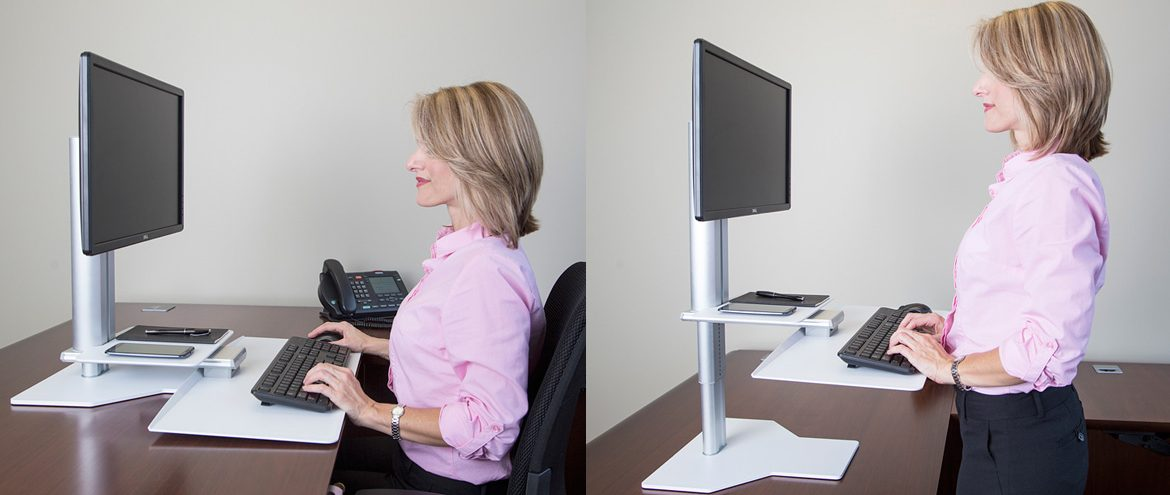 Product Of The Week #10 – Uprite Ergo Height Adjustable Sit-Stand Workstation